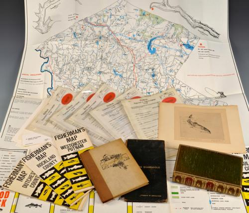 Fly Fishing Archive incl. Maps & Books