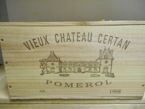 Vieux Chateau Certan, Pomerol 1998, six bottle owc (ex. The Wine Society) <br>