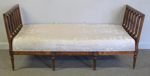 Antique French? Wood Frame Daybed.
