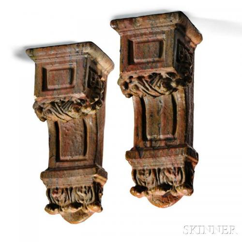 Pair of Architectural Corbels