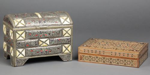 2 Damascene Caskets