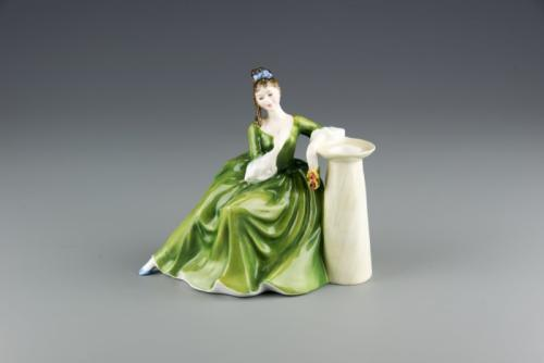 A Royal Doulton Figurine, NULLSecret ThoughtsNULL