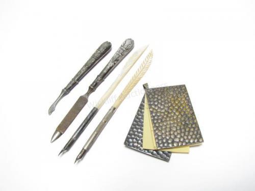 Antique Silver Instruments