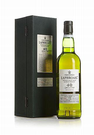 Laphroaig 40 Years Old Single Malt Whisky