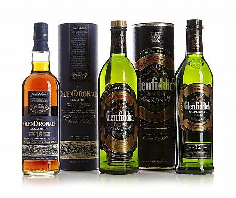 Mixed lot: Highland & Lowland Malt Whisky