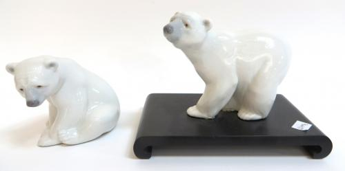 Lladro Polar Bears