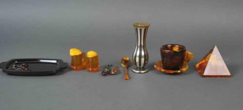(10) PIECE RUSSIAN AMBER GROUP