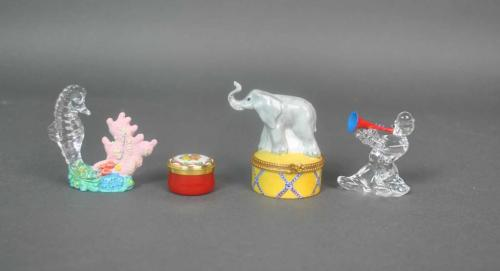 (4) MINIATURE COLLECTIBLES