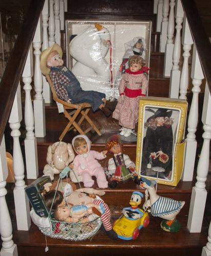 12 Dolls and Asst. Toys