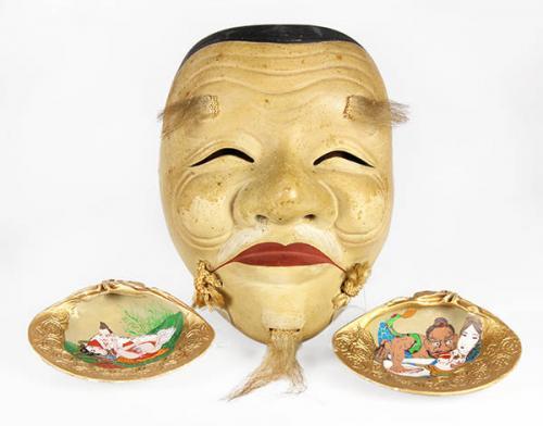 Japanese Erotica Mask/Sea Shells
