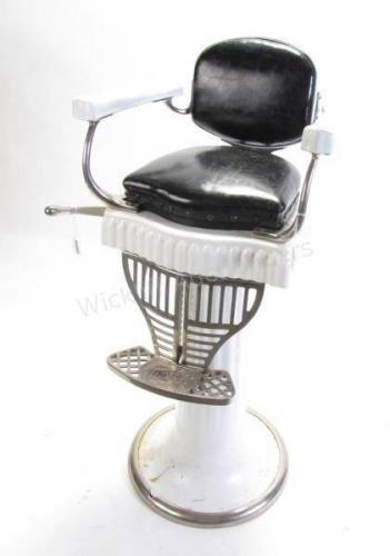 Koken Antique Child's Barber Chair