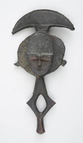 Kota Copper-Clad Figural Staff
