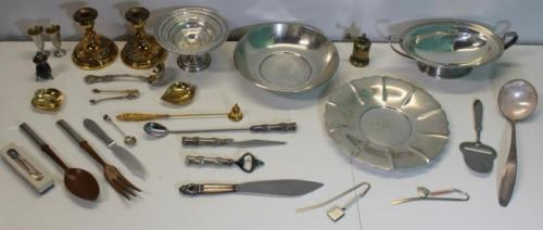 SILVER. Grouping of Sterling and Assorted