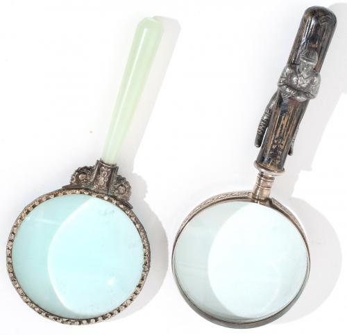 2 Novelty Magnifying Glasses