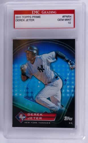 2011 Topps Prime Derek Jeter Baseball Card (Graded