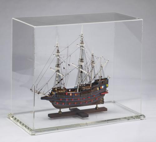 20th c. ship model of a Spanish Galleon launched 1650