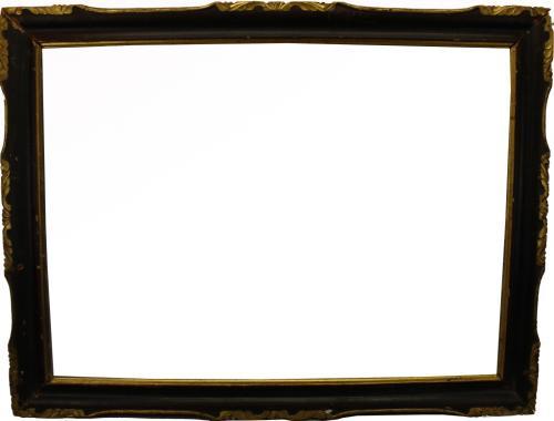 Antique Carved/Gilt Wooden Frame