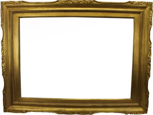 Antique Gilt Carved Wood Frame