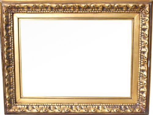 Antique Carved Continental Frame