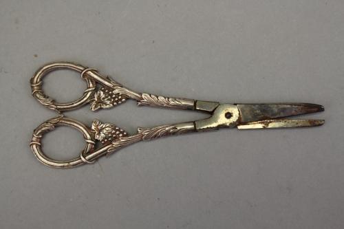 Antique Silver Grape Shears
