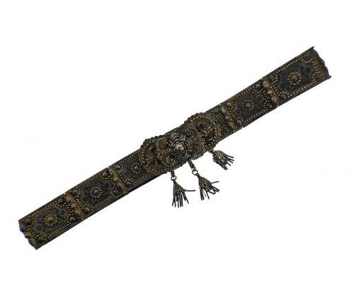 Persian Antique Silver Belt