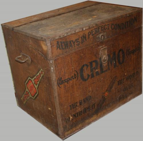 Cremo Export Cigar Humidor Trunk