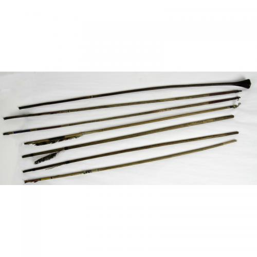 Plains Polychrome Arrows and Bird Dart