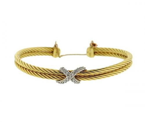 Auction results for gold cuff bracelet