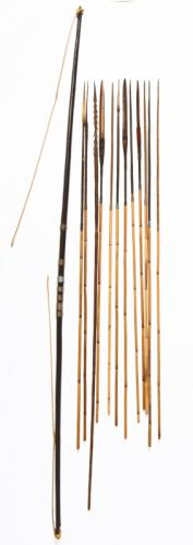 Papua New Guinea Bow and Arrows