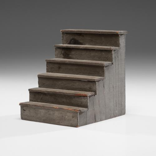 Miniature Wooden Ware and Steps