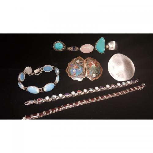 Sterling Silver Jewelry with Gemstones PLUS
