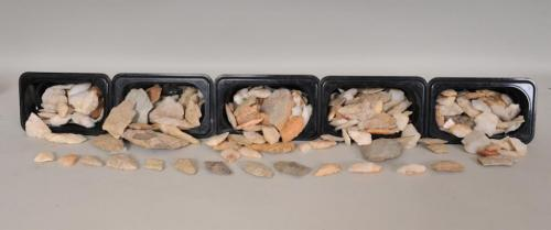 Mixture of Arrowheads and Other Stones