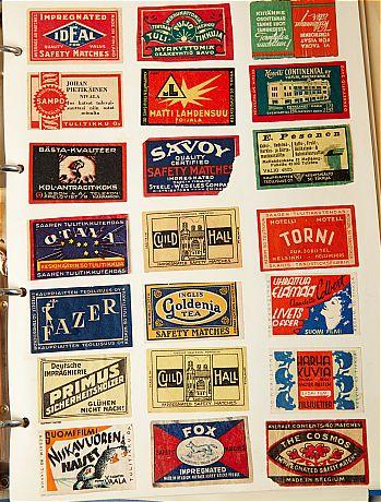 postcards, etc.
