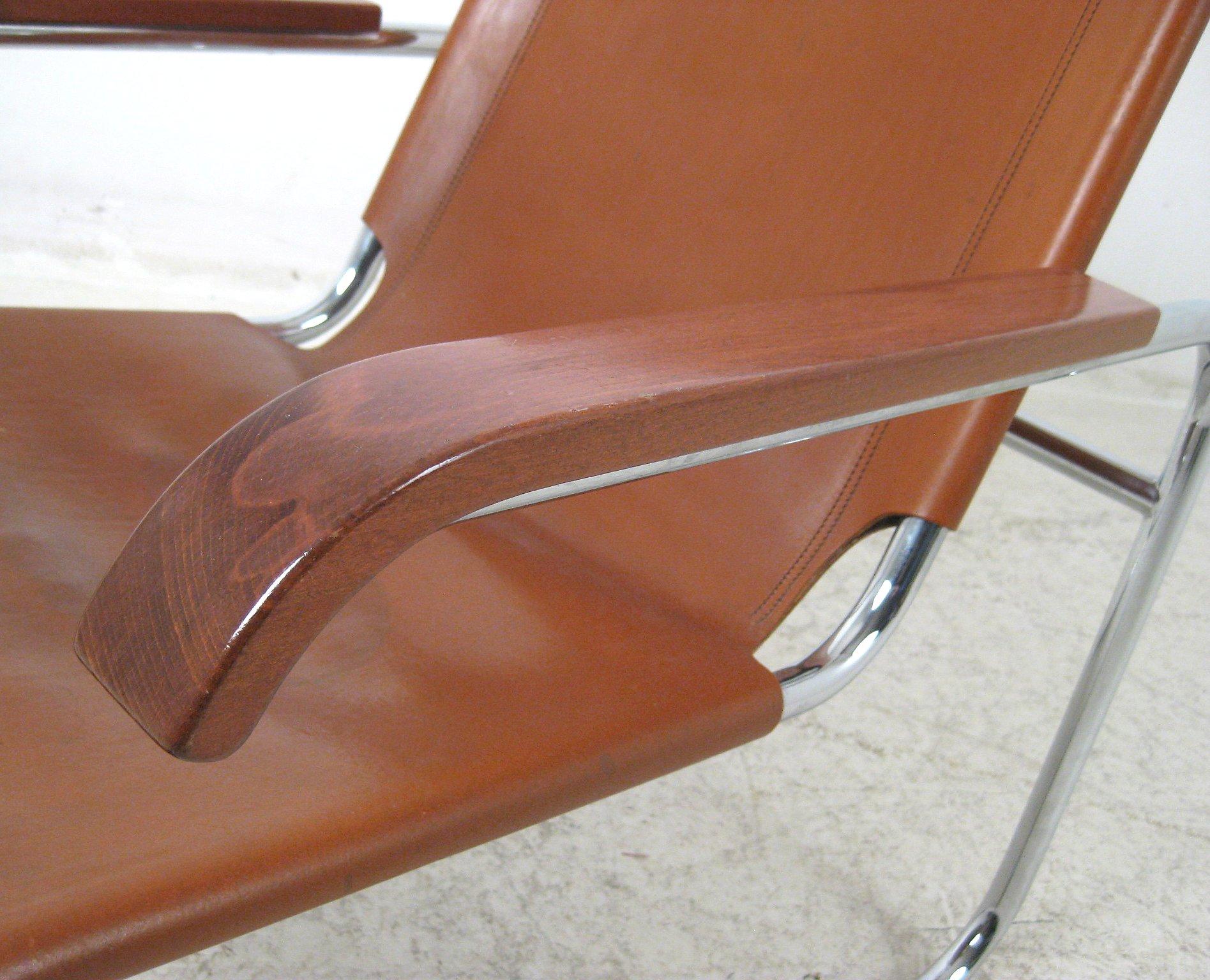 Marcel Breuer, pair of tubular steel chairs model B 35 by Thonet (2)