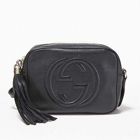 Gucci shoulder bag Soho Disco Bag in black