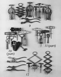 Seven corkscrews: