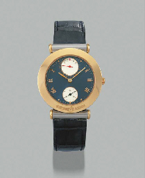 Ulysse Nardin. A stainless steel and gold self-winding wristwatch with date
