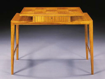 A FRUITWOOD LADY'S WRITING DESK