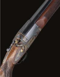 AN UNUSUAL 14-BORE SINGLE-BARRELLED SIDELOCK HAMMER HARPOON-GUN BY T. BLAND, NO. 81215