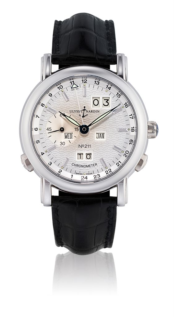 ULYSSE NARDIN, PERPETUAL CALENDAR GMT