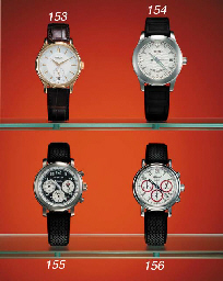 Chopard. A fine stainless steel limited edition self-winding waterproof wristwatch with sweep centre seconds and date