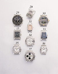 Breitling. A stainless steel self-winding chronograph wristwatch with date