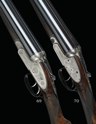 A 16-BORE SIDELOCK EJECTOR GUN BY WILLIAM POWELL & SON, NO. 12848