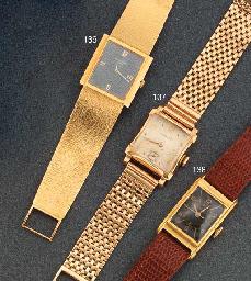 A Gentleman's wristwatch, by Longines