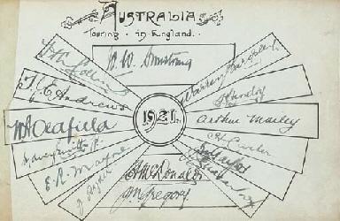 Australia Touring Team, 1921