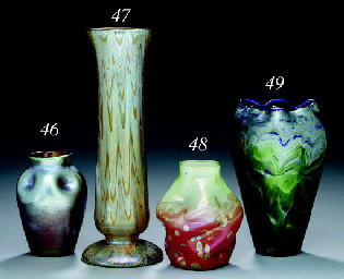 A PAPERWEIGHT GLASS VASE