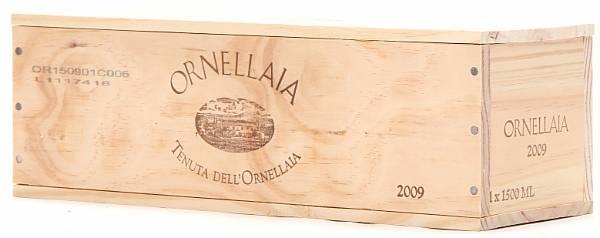 1 bt. Mg. Ornellaia, Tenuta dell'Ornellaia, Bolgheri 2009 A (hf/in). Owc.