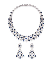 A FINE SUITE OF SAPPHIRE AND DIAMOND JEWELRY, BY GIANMARIA BUCCELLATI