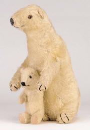 A Dean's Rag Book Brumas and Ivy polar bears