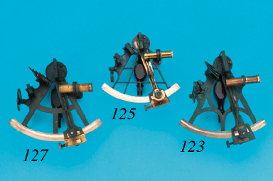 A late 19th Century 7in. vernier sextant by Sewill